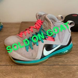 "Nike LeBron 9 PS Elite ""South Beach"""